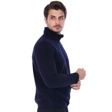 Erkek Lacivert Polar Sweatshirt 710078-00M 962203