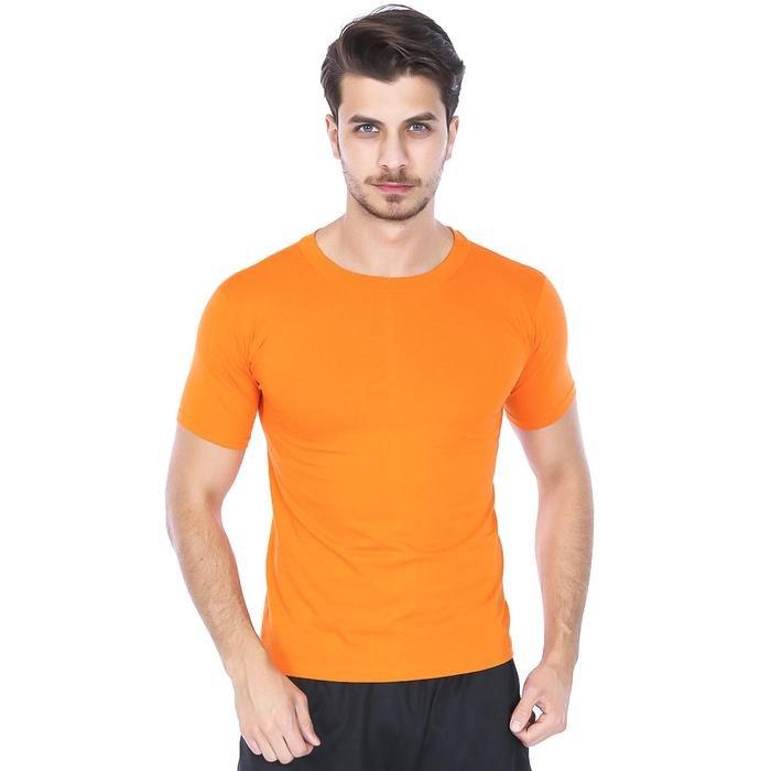 Basic Erkek Turuncu Günlük Stil Tişört 060020021TR4 104756