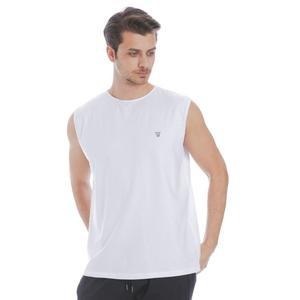 Erkek Beyaz Antrenman Atlet 711005-BYZ