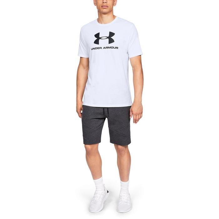 Sportstyle Logo Erkek Beyaz Tişört 1329590-100 1185154