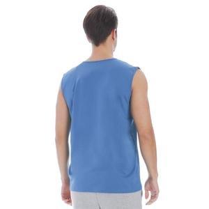 Erkek Mavi Antrenman Atlet 711005-PTR
