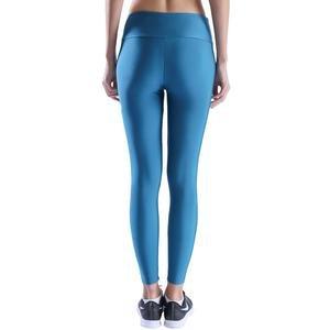 Shinetight Kadın Mavi Parlak Tayt 710475-TGR
