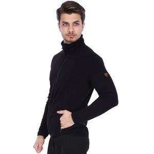 Erkek Siyah Polar Sweatshirt 710079-00B