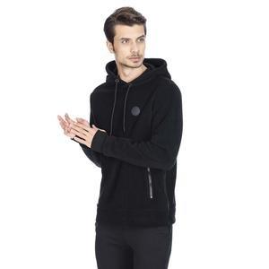 Mounfersweat Erkek Siyah Polar Sweatshirt M100039-SYH