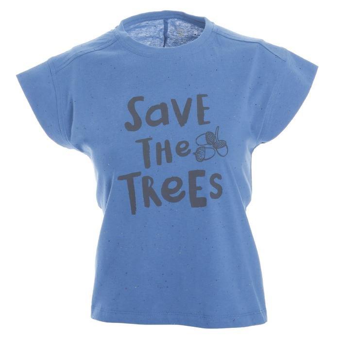 Girlnoptee Çocuk Koşu Tişört G10003-PTR 1111727