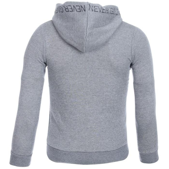 Boyzipone Çocuk Gri Koşu Sweatshirt B10000-AML 1111626