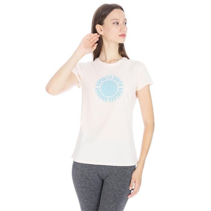 Polbaswom Kadın Pembe Koşu Tişört M10009-LTT 1065992