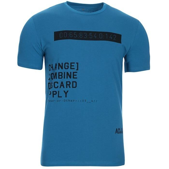 Firchange Erkek Mavi Koşu Tişört 710700-PTR 1092817