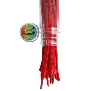 Tres Örgü 110Cm Kırmızı Ayakkabı Bağcığı TB110SK3250521