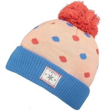 Cupcake Çocuk Pembe-Mavi Desenli Bere 659174-4073 912415
