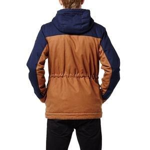 Offshore Erkek Kahverengi Kapüşonlu Outdoor Mont 650112-7900