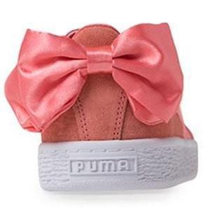 Suede Bow Jr Kadın Pembe Günlük Ayakkabı 36731601