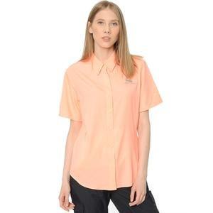 Tamiami II Kadın Pembe Kısa Kollu Gömlek FL7277-884