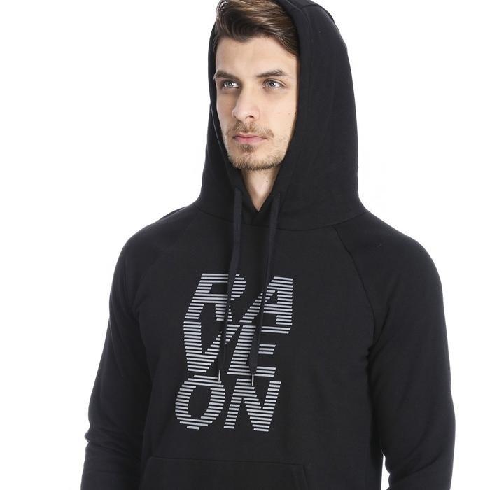 Mountraveon Erkek Siyah Outdoor Sweatshirt M10024-00B 1089110