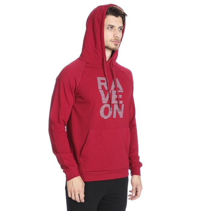 Mountraveon Erkek Kırmızı Outdoor Sweatshirt M10024-WNE 1089112