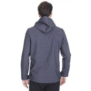 Erkek Siyah Kapüşonlu Outdoor Mont M100059-SYH