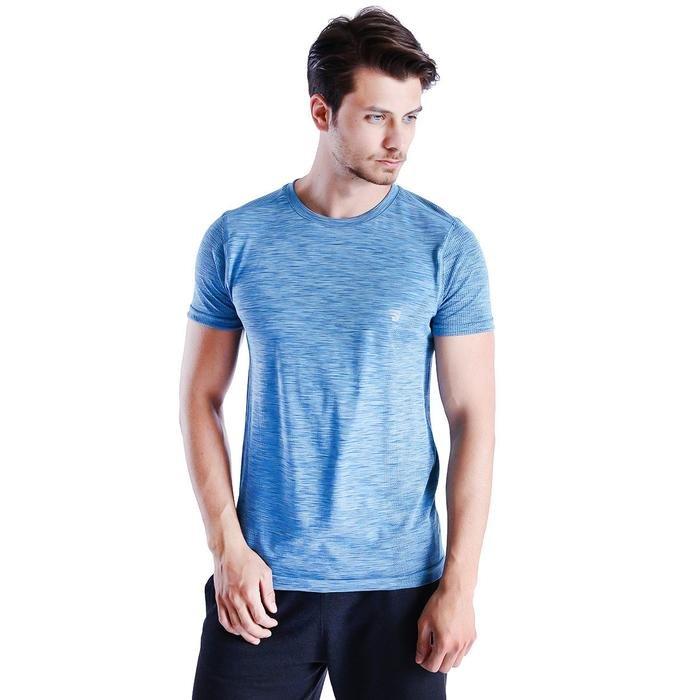 Newseamkis Erkek Mavi Koşu Tişört 710464-Grn 1016479