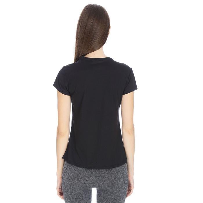 Polbaswom Kadın Siyah Koşu Tişört M10009-BLK 1065987