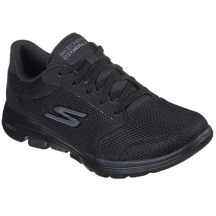 Go Walk 5 Kadın Siyah Koşu Ayakkabısı 15902 BBK 1145180