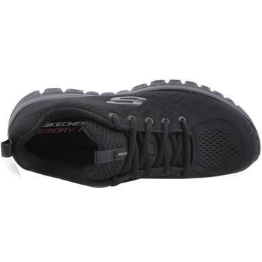 Graceful-Get Connected Kadın Siyah Koşu Ayakkabısı 12615 BBK 978218