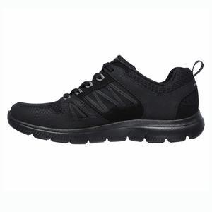 Summits Kadın Siyah Spor Ayakkabısı 12997 BBK