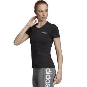 W D2M Solid Tee Kadın Siyah Antrenman Tişört EI5512