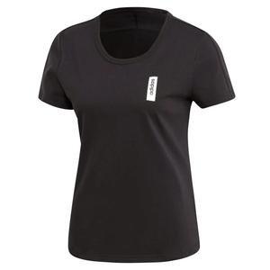 Brilliant Basic Kadın Siyah Günlük Tişört EI4633