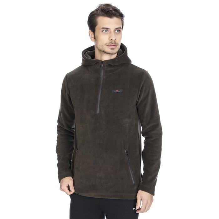 Mounpolarman Erkek Haki Polar Sweatshirt M100043-HKI 1093248