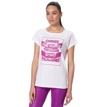Donna Kadın Beyaz Günlük Tişört 910299-9001 1080502
