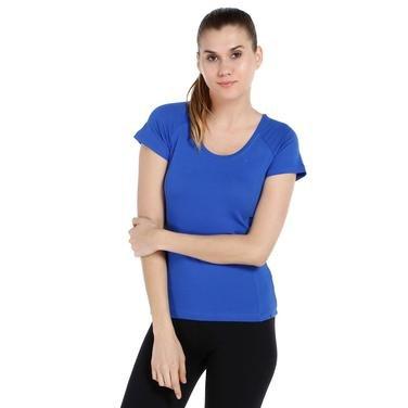 Supnecku Kadın Mavi Günlük Stil Tişört 400210-0SX 714131