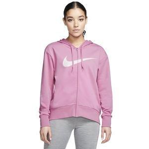 Dry-Fit Get Kadın Pembe Kapüşonlu Sweatshirt CQ9303-693