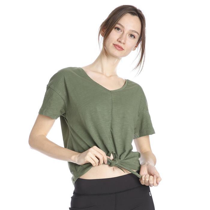 Kadın Haki Günlük Tişört 711028-HKI 1158220