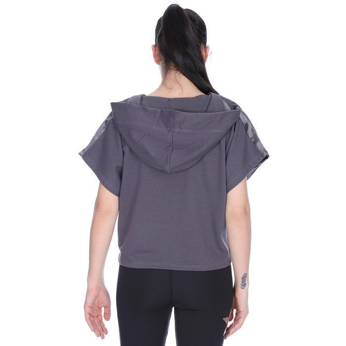 Satbagform Kadın Gri Koşu Tişört 710618-ANT 1063918