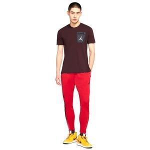Jordan 23 Alpha Dry NBA Erkek Kırmızı Antrenman Eşofman Altı 889711-687