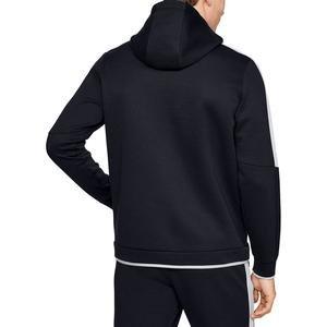 Athlete Recovery Fleece Erkek Siyah Kapüşonlu Ceket 1348407-002