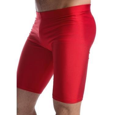 Erkek Kırmızı Kısa Şort-Tayt 6039502 115107