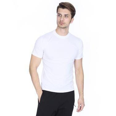 Basic Erkek Beyaz Günlük Stil Tişört 060020021BY0 103570
