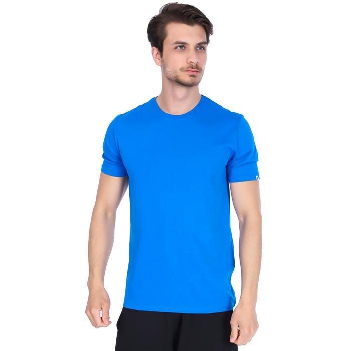 Basic Erkek Mavi Günlük Stil Tişört 710200-0SX 996659