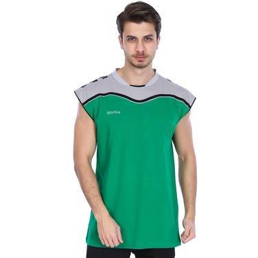 New Line Erkek Yeşil Basketbol Tişört 201462-00Y 799412