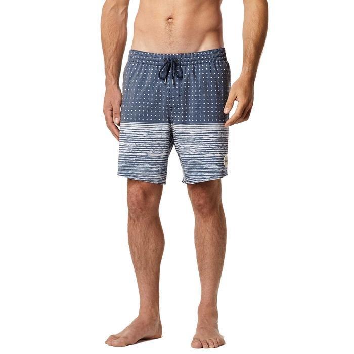 Evolver Erkek Mavi Desenli Yüzme Şort Mayo 7A3202-5900 961420