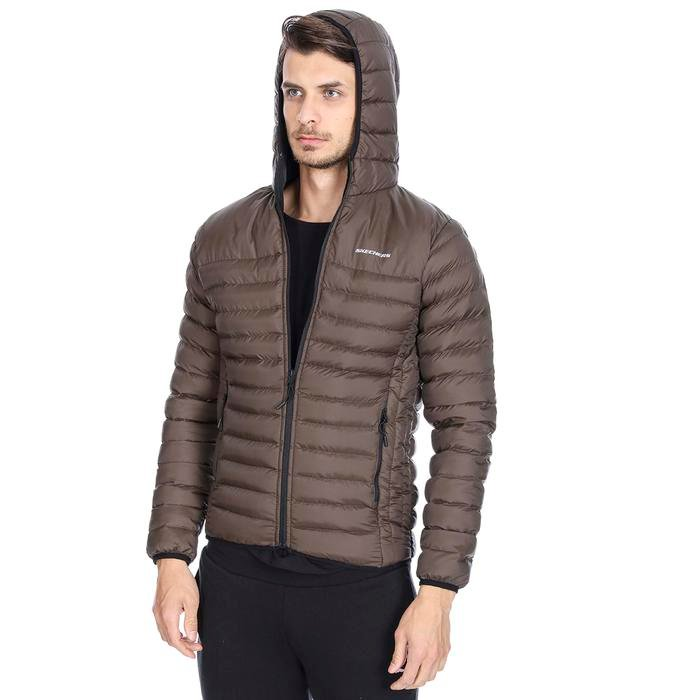 M Filled Hood Erkek Yeşil Ceket S192056-300 1149370