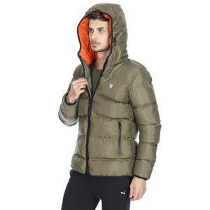 Erkek Haki Kapüşonlu Outdoor Mont 710752-HKI