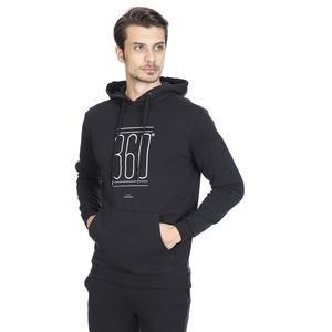 Sweatmis Erkek Siyah Günlük Stil Sweatshirt 710717-SYH
