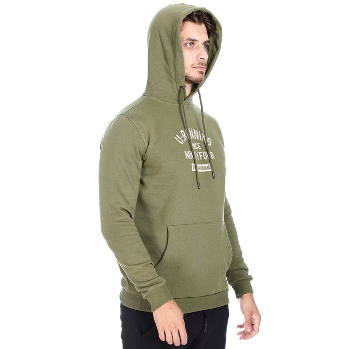 Swefour Erkek Haki Koşu Sweatshirt 710718-HKI 1092956