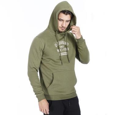 Swefour Erkek Haki Koşu Sweatshirt 710718-HKI 1092958