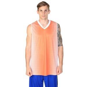 Bengal Erkek Turuncu V Yaka Basketbol Forma 201420-0TB