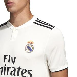 Real H Jsy Erkek Beyaz Futbol Forması DH3372