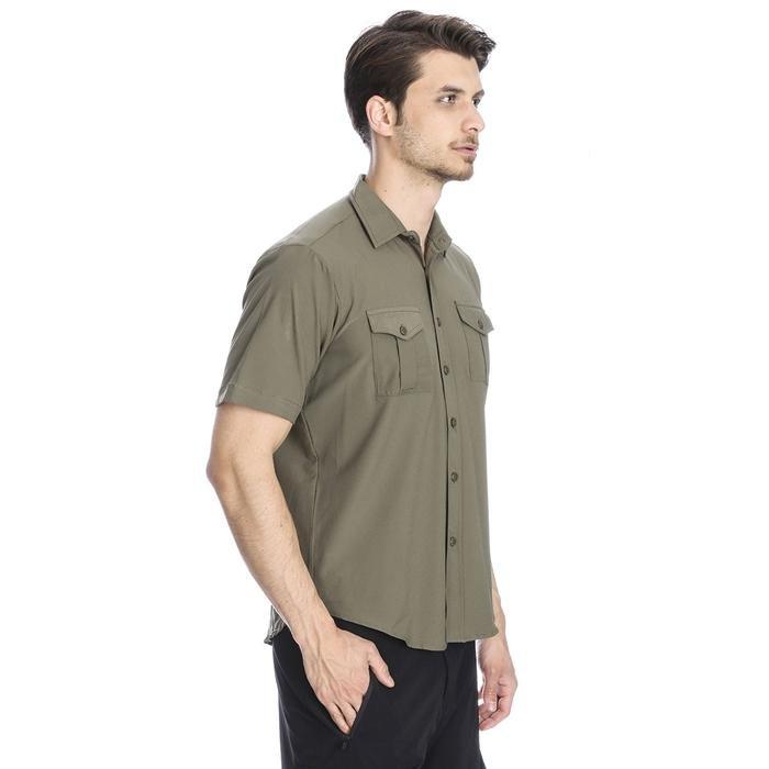 Safkisshirt Erkek Haki Günlük Gömlek 710116-0FR 996459