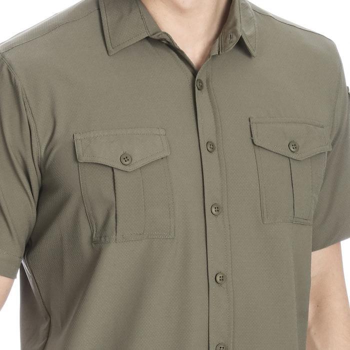 Spo-Safkisshirt Erkek Haki Koşu Gömlek 710116-0FR-SP 1281752
