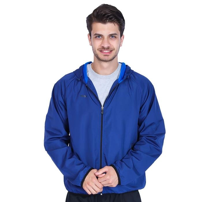 Erkek Lacivert Kapüşonlu Koşu Ceketi 201530-0SX 736999